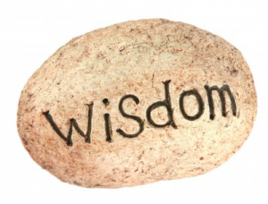 Wisdom is different than having knowledge.