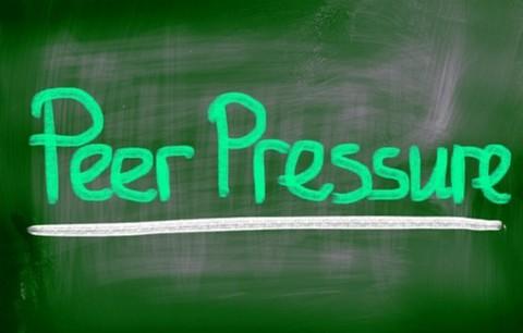 The best defense against peer pressure is a great offense. Try to P-U-S-H B-A-C-K and experience the best teen years yet!