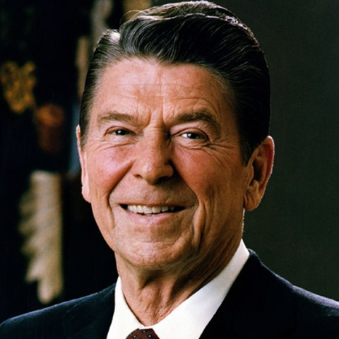 Ronald Reagan, 40th President of the United States of America