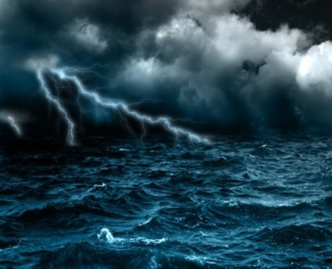 I will praise You in the storm.