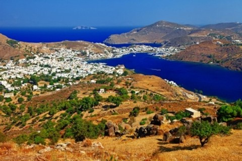The book of the Revelation was written about the vision that John saw while banished to the Greek island of Patmos on the Aegean sea.