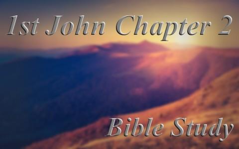 1 john Chapter 2 Bible study